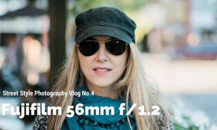 Street Style Photography with Fuji 56mm 1.2 – Vlog No.4